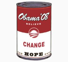 Obama Warhol Soup by midniteoil
