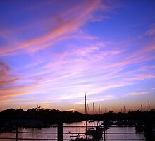Annapolis Sunset sky  by OceanBien