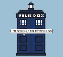 DOCTOR WHO - MAD MAN WITH A BOX by swhitewat