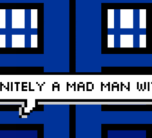DOCTOR WHO - MAD MAN WITH A BOX Sticker
