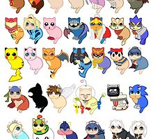 Super Smash Cats! by Lyndsey Little
