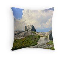 Sky Path Throw Pillow