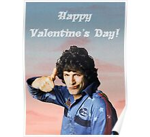 Hot Rod Valentine's Day Poster