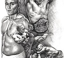 Georges St.Pierre by Alleycatsgarden
