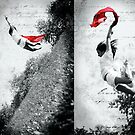 Jump for Liberty by Mena Assaily