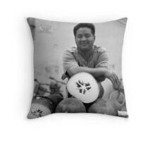Marrow Man Throw Pillow