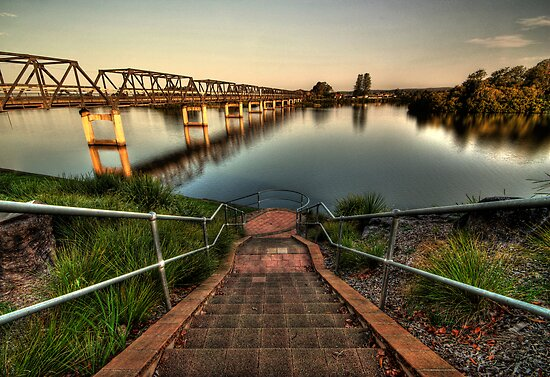 Taree Bridge  by Matthew Jones