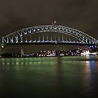 Sydney Harbour Bridge by Andrew  Ray
