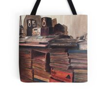 'Round Midnight Tote Bag