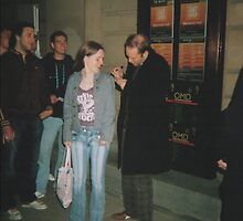 Derren Brown signing my jacket, june 2007 by lollipopgirl