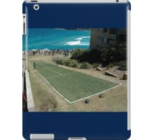 Level Playing Field, Sculptures By The Sea 2006 iPad Case/Skin