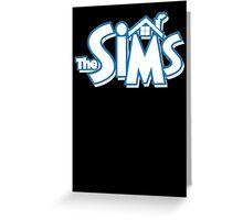 The sims logo Greeting Card