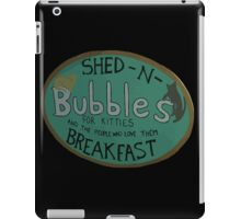 For Kitties and the people who love them BREAKFAST. iPad Case/Skin