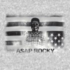 A$AP ROCKY BLACK\WHITE SKULL by TheJokerSolo