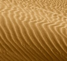 Ripples in Kelso's Singing Sand by Christine Till  @    CT-Graphics