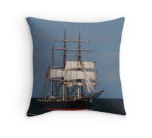 James Craig - Newcastle Harbour NSW Throw Pillow