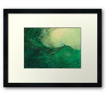 In Flow Framed Print