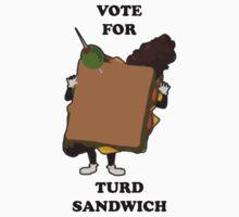 Vote for Turd Sandwich Kids Clothes