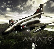 F-4 Phantom Fighter Jet by rott515