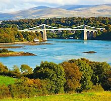 menai bridge by samandoliver