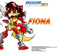 Freedom Fighters 2K3 Fiona by TakeshiMedia