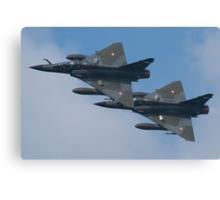 Ramex Delta Duo - Mirage 2000 Canvas Print