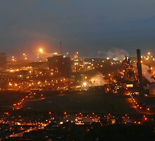 steelworks port talbot by zacco