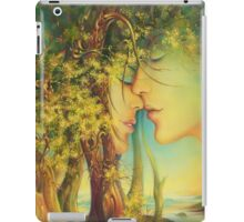 """ An Encounter at the Edge of the Forest"" - postcard & greeting card iPad Case/Skin"