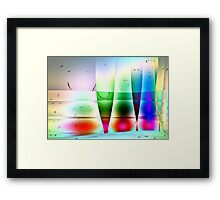 Reflections in Glass -Available As Art Prints-Mugs,Cases,Duvets,T Shirts,Stickers,etc Framed Print