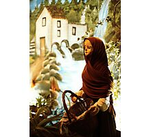 Young nordic girl Photographic Print