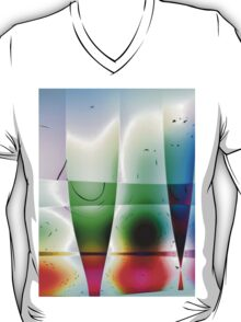 Reflections in Glass -Available As Art Prints-Mugs,Cases,Duvets,T Shirts,Stickers,etc T-Shirt