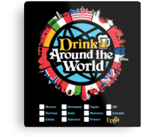 Drink Around the World - EPCOT Metal Print