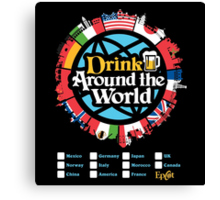 Drink Around the World - EPCOT Canvas Print