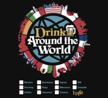 Drink Around the World - EPCOT by tonysimonetta