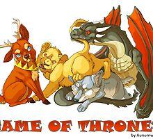 Game Of Thrones  by aunumwolf42