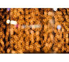 golden circles Photographic Print