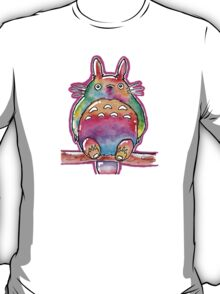 Cute Colorful Totoro! Tshirts + more! (watercolor)  T-Shirt
