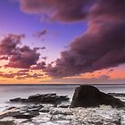 Purple Dawn - Pt Cartwright Qld Australia by Beth  Wode