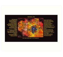 God Canvas Sky Version 2 Fractal Art Print