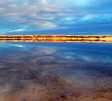 Snowy River Reflections Marlo Vic. by helmutk