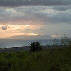 Niihau View from Kokee by Ken Kusaka
