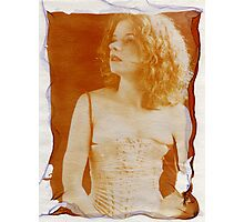 floating emulsion Photographic Print