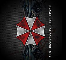 Umbrella Corporation Logo by ThreeBoys