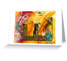 Yeh Yeh #1 ..... hand coloured silver gelatin print Greeting Card