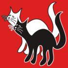 Black Cat White Cat by Mikhail Palinchak