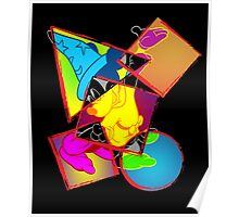 Abstract Mouse Pop Art Poster