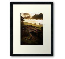 Close Gate Bridge  Framed Print