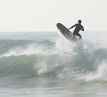 Fistral Surfers III (Long Board) by Lucan  Netley (LDN Photoart)