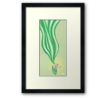 The Act of Juggling Yet Bound Framed Print