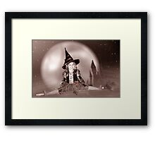 Witch's Night Out 2 Framed Print